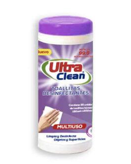ULTRA CLEAN Toallitas Desinfectantes Lavanda 35 un