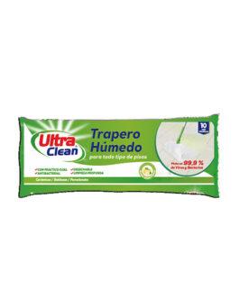 ULTRA CLEAN Trapero Húmedo Desinfectante Lavanda 10 un