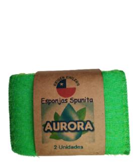 AURORA Esponjas Spunita 2 un