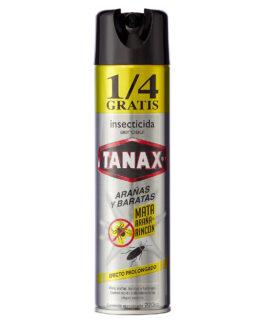 TANAX Mata Arañas y Baratas 220 cc + 1/4